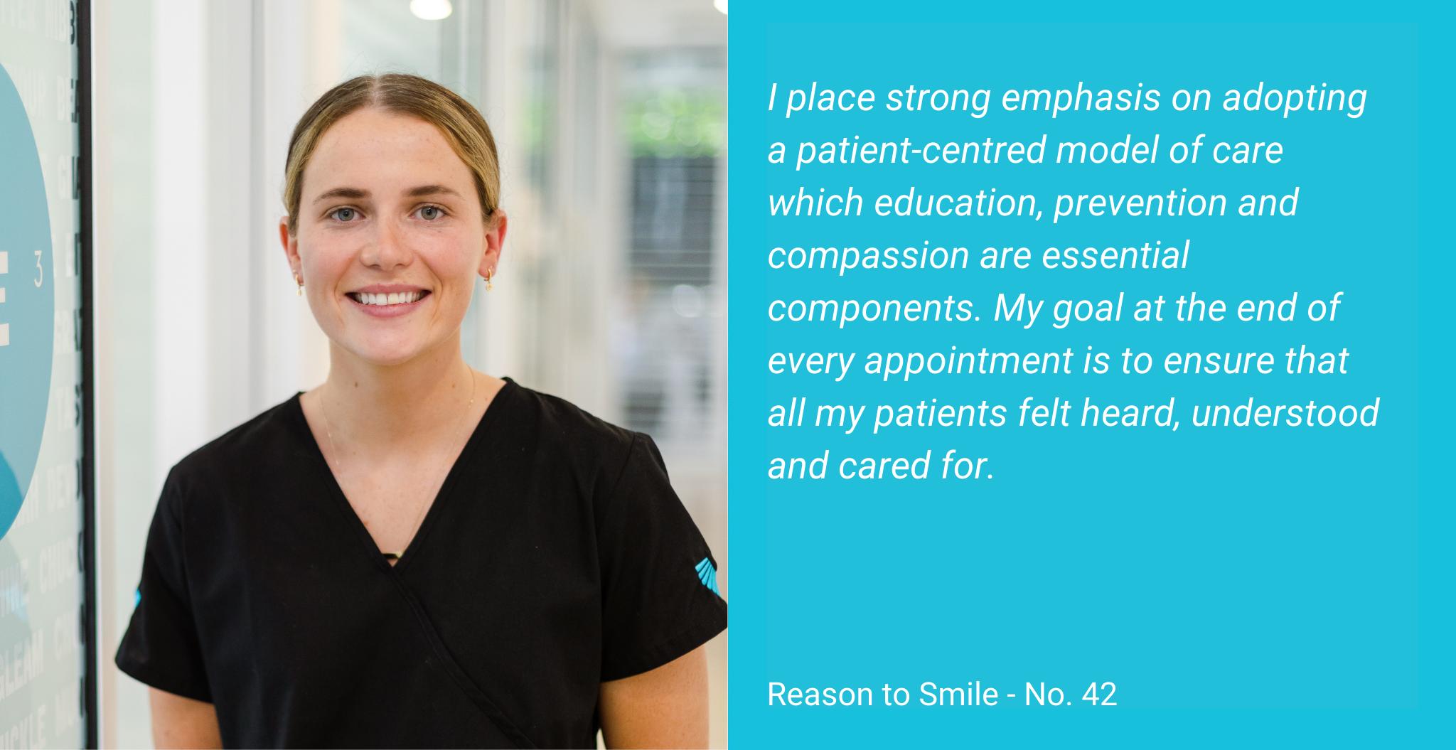 Jessie Johnson is an Oral Health Specialist