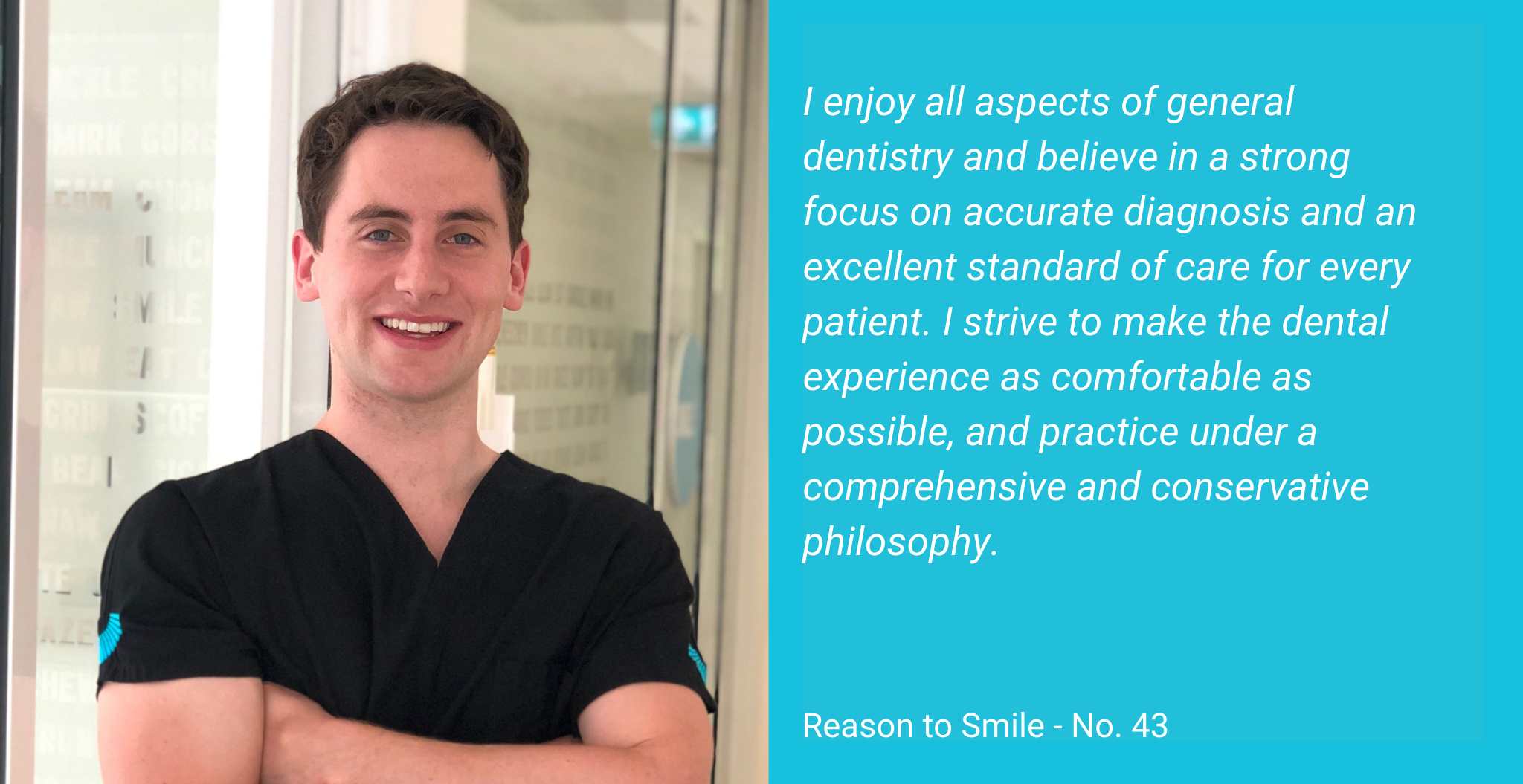 Dr Joseph O'Connor Johnson is an Oral Health Specialist